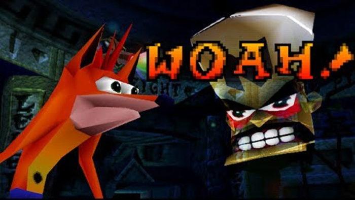 Crash Bandicoot Woah Meme