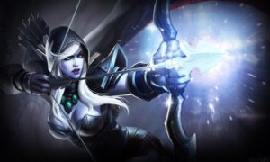 Drow Ranger from DOTA 2.