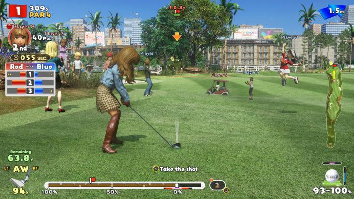 everybody's golf turf war
