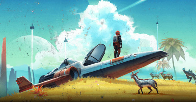 No Man's Sky - Multiplayer Space Exploration