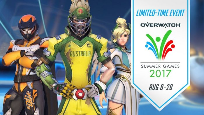 overwatch, summer games 2017, skins