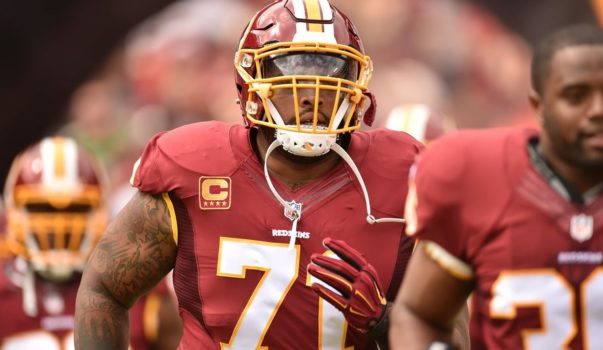 Trent Williams, Redskins, LT - 95
