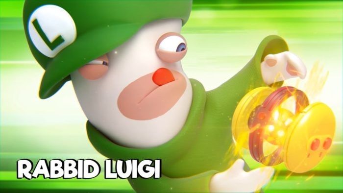 Mario + Rabbids, Rabbid Luigi
