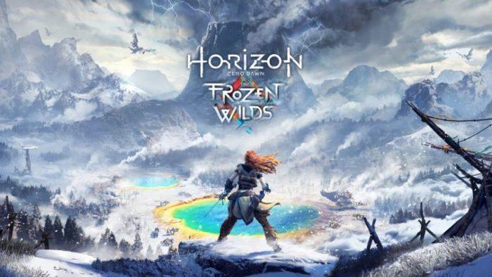frozen wilds, horizon zero dawn