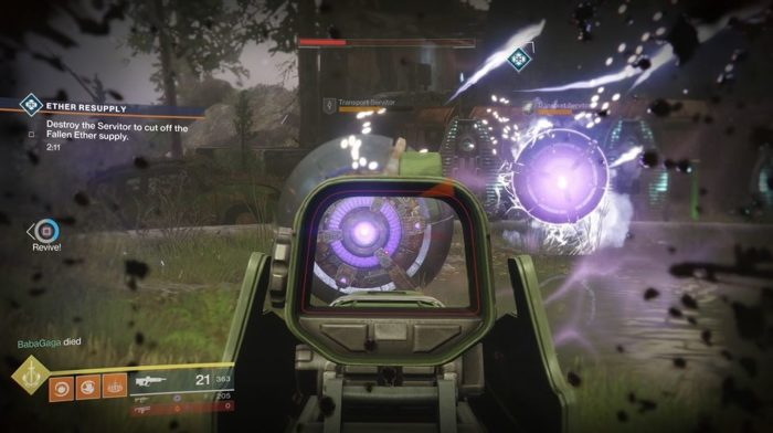 Destiny 2 Ether Resupply Heroic