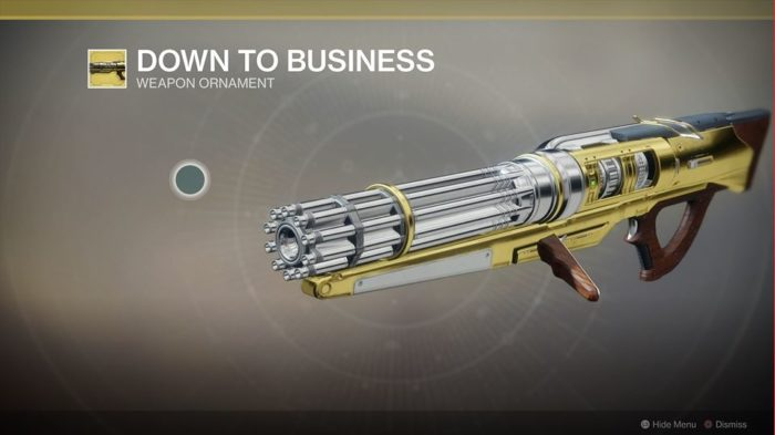 Destiny 2 Sweet Business Down to Business