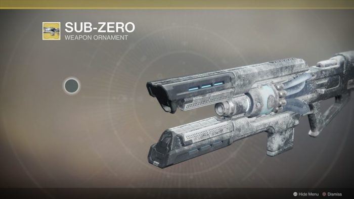 Destiny 2 frostheart sub-zero