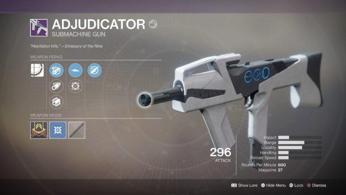 destiny 2 adjudicator