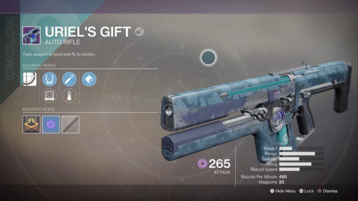 destiny 2 uriel's gift