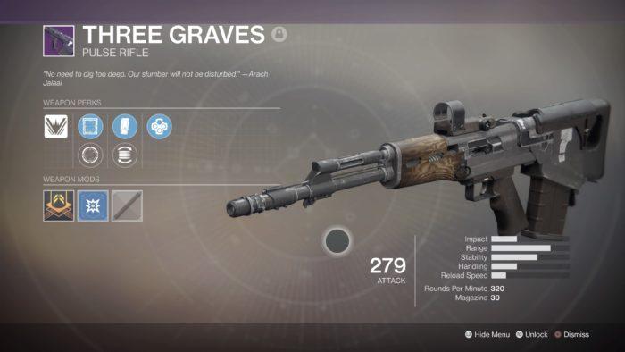 destiny 2 three graves