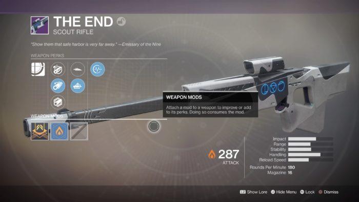 destiny 2 the end