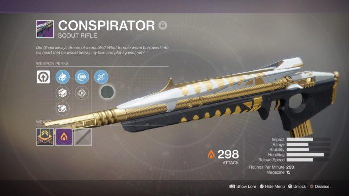 destiny 2 conspirator