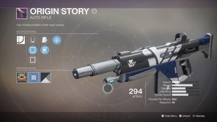destiny 2 origin story