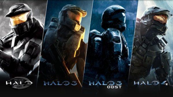 Halo, Halo 3, Halo 4, Halo: Combat Evolved Anniversary