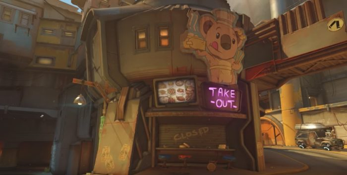 Overwatch Junkertown Take Out
