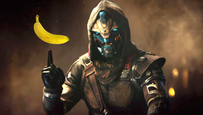 banana, destiny 2, destiny