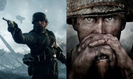 Battlefield 1 and Call of Duty: WW2