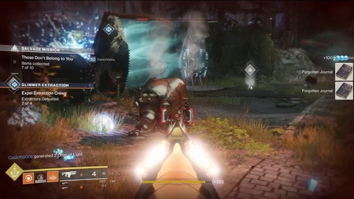 destiny 2 glimmer extraction heroic