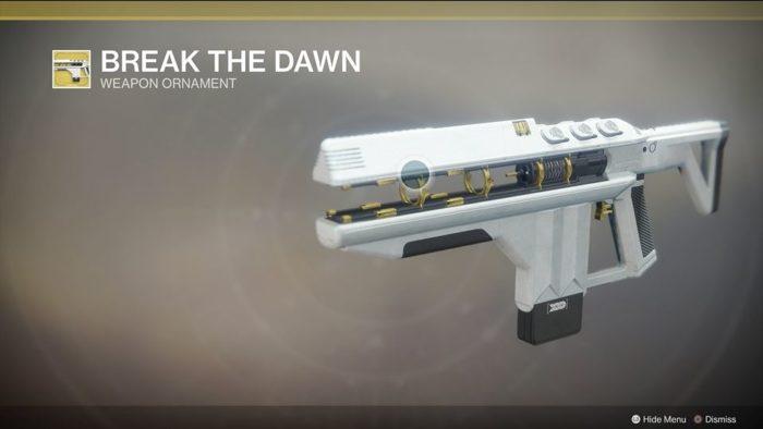 destiny 2 merciless break the dawn