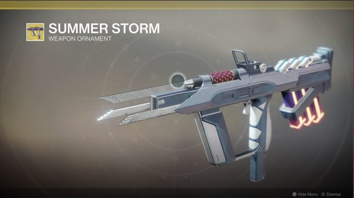 destiny 2 riskrunner summer storm