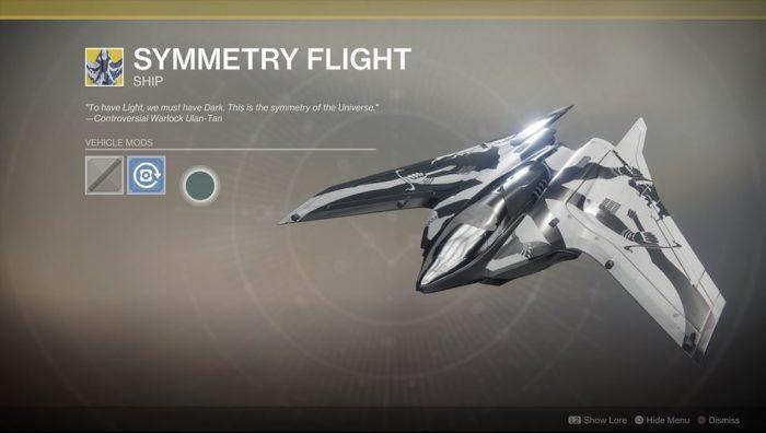 destiny 2 symmetry flight