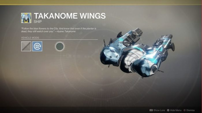 destiny 2 takanome wings
