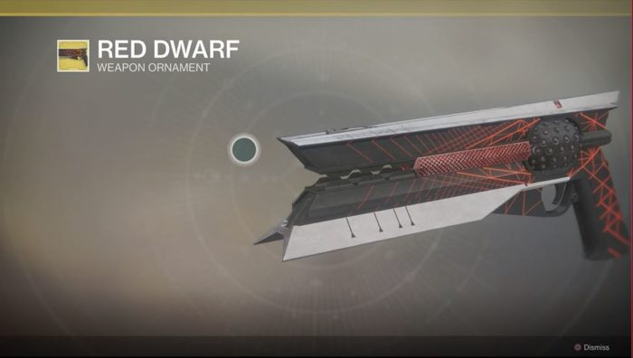 destiny sunshot red dwarf