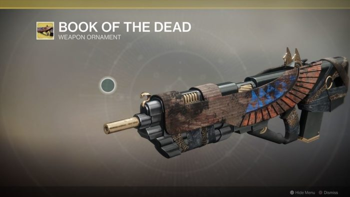 destiny 2 book of dead