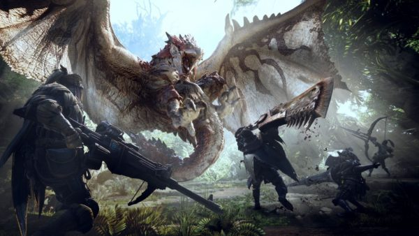 monster hunter world, games, jrpgs, 2018