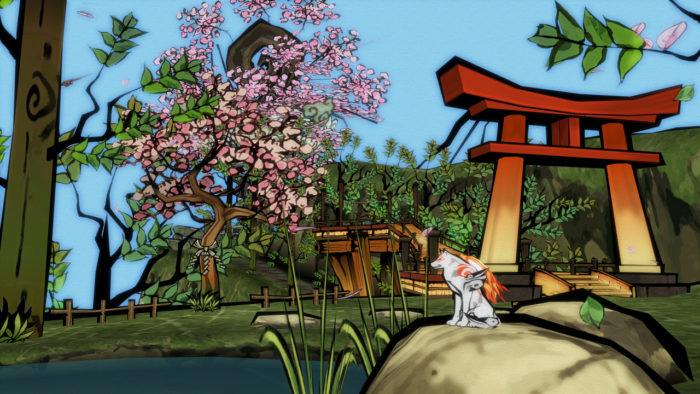 Check Out New Footage Of Okami Hd With These Two New Trailers