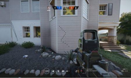 rainbow six: siege, recoil