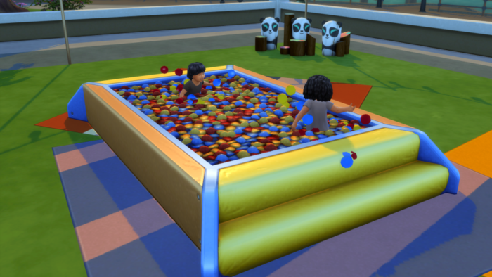 The Sims 4 Toddler Stuff Expansion Has Its Wonky Ball Pit