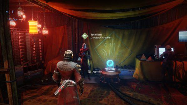 destiny 2, tyra karn location