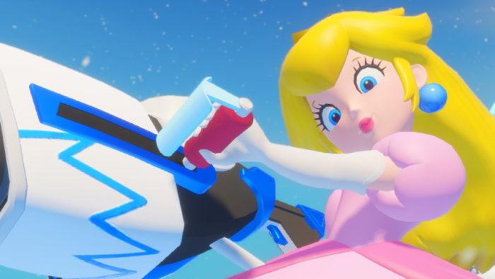 Princess Peach, Mario Rabbids