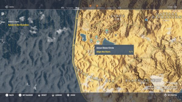 Assassin S Creed Origins All Stone Circles Locations