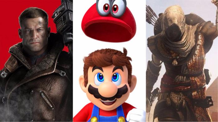 Assassins Creed Wolfenstein Super Mario