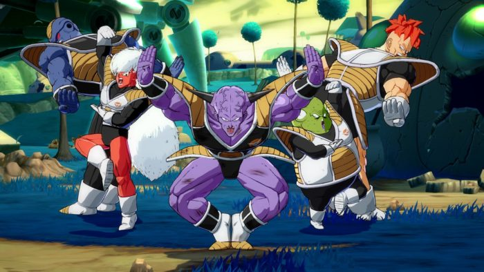 Dragon Ball FighterZ makes the Ginyu Force look more beautiful than ever.