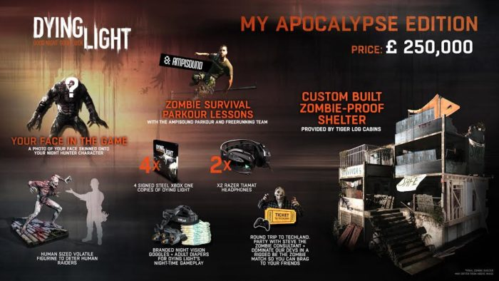 Dying Light – My Apocalypse Edition Collector's Editions