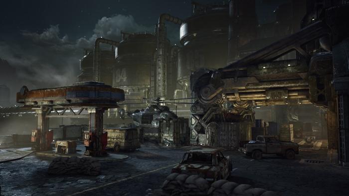 Gears of War 4, Fuel Depot