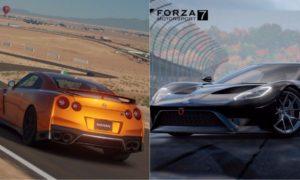 GT Sport, Forza 7