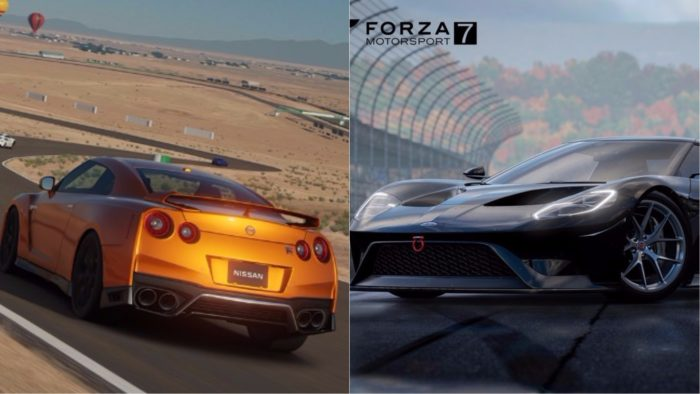 Gt Sport Forza 7