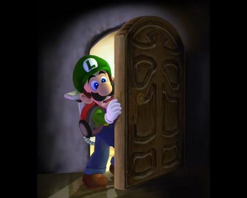 Luigi_coming_out_of_door