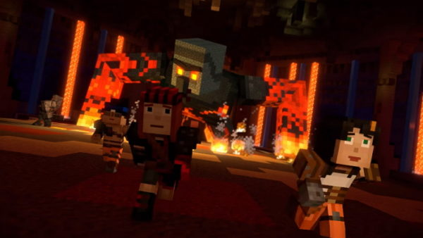 Minecraft: Story Mode - Season Two, Episode 4
