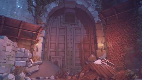 Overwatch halloween gate