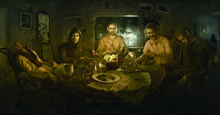 Resident Evil 7, halloween, scariest games