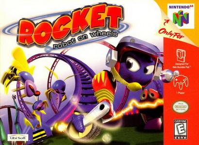 Robot Rocket on Wheels