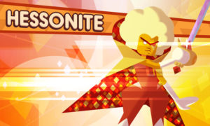 Steven Universe Save the Light Hessonite
