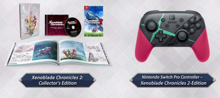 You Can Now Pre-Order the Xenoblade Chronicles 2 Collector's