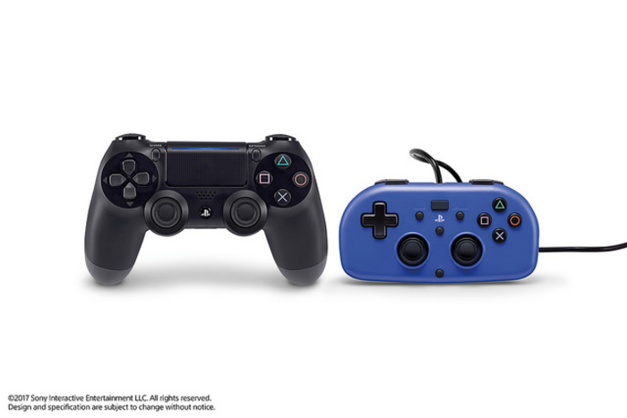 Take a Look at the New Mini Wired Gamepad for PS4