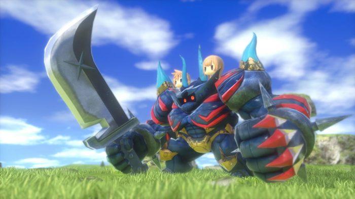 World of Final Fantasy Iron Giant